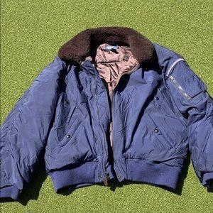 Polo puff coat